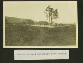Government buildings at Fort Fraser
