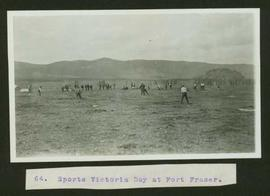 Group of men playing baseball