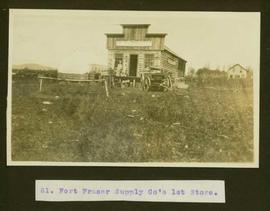 Fort Fraser Supply Co.'s first store