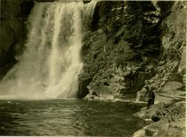 (?) Callao fishing at Potts Falls