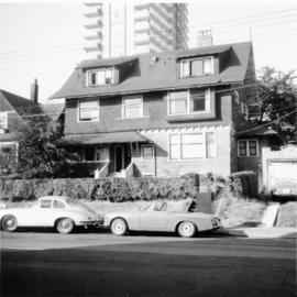 House, Beach Ave., West End, Vancouver