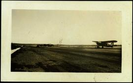 Planes on Apron at Fort St. John