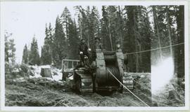 Fred Youngstrom Operating a Haulback Rig