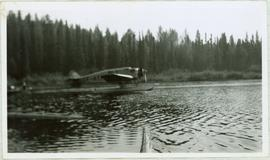 Plane on Summit Lake, BC