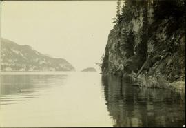 Man Fishing at Stuart Lake, BC