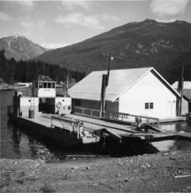 """Landing Craft #10,"" Kootenay Lake"