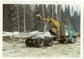 Arch-truck logging in winter