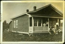Taylor Family at House in South Fort George