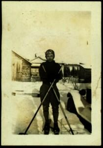 Hugh Taylor Jr in Ski Gear