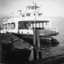 "Former automobile/passenger ferry, ""San Diego"""