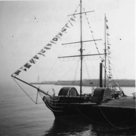 "Replica of ""SS Beaver"""