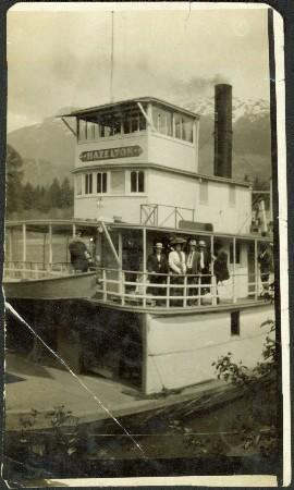 Steamboat on the Skeena River at Hazelton, B.C