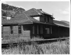 Abandoned Canadian Pacific Railroad Station Natal BC