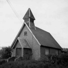 Church at Clayburn, near Abbotsford, B.C.