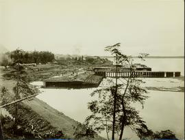 Dry dock and construction at the Prince Rupert wharf