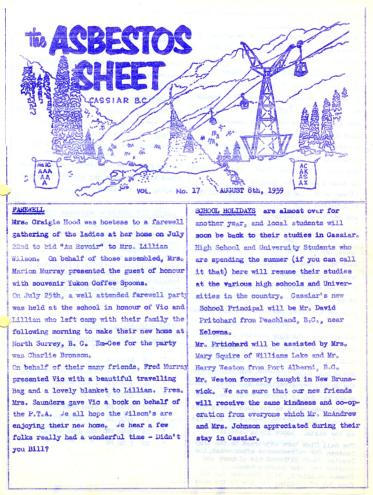 2000.1.3.1.024 - The Asbestos Sheet Aug. 1959