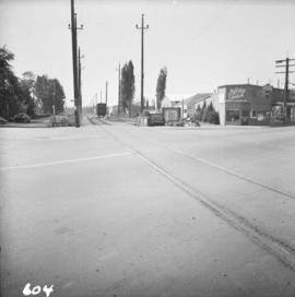 B.C. Electric Railway crossing in Langley