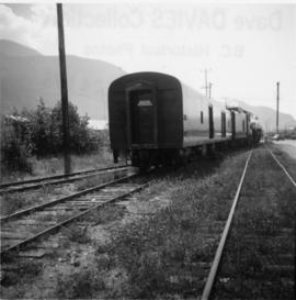 """Royal Hudson"", Squamish wharf spur"