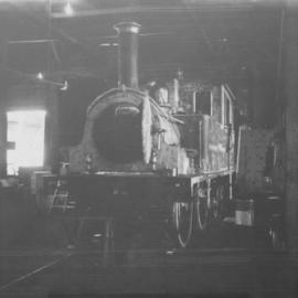 "0-4-4 ""Dunrobin"" locomotive built by Sharp, Stewart, & Co. Ltd. In 1895"